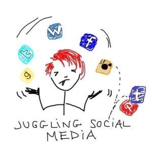 Juggling Social Media